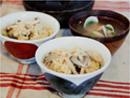 버섯 영양밥 & 모시조개 미소국